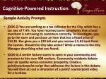 cognitive powered instruction8