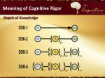 meaning of cognitive rigor2