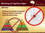 meaning of cognitive rigor5