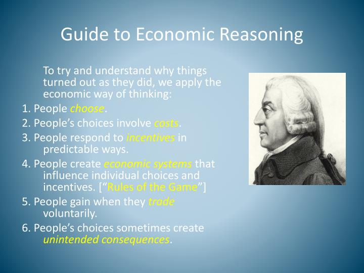 Guide to Economic Reasoning