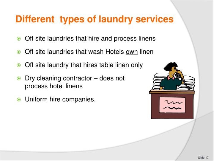 linen and laundry service in off