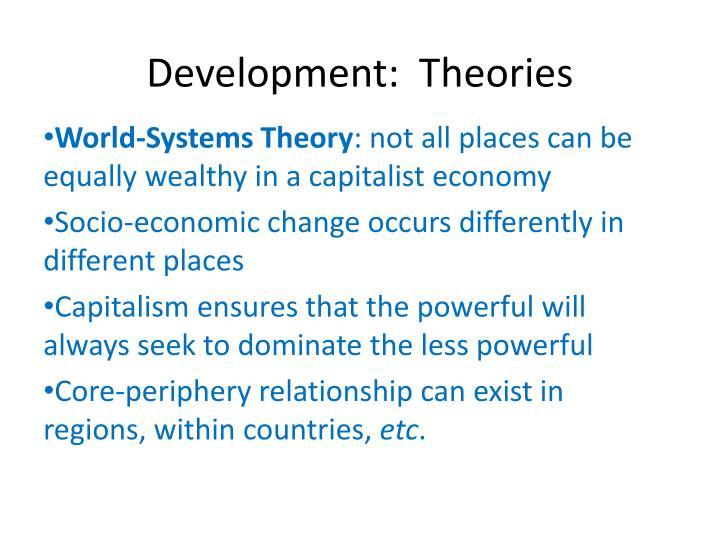 Development:  Theories