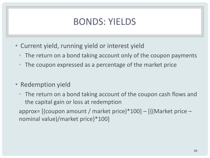 Bonds: Yields