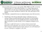 2 2 detector and electronics wisniewski slac byrum anl