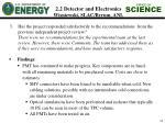 2 2 detector and electronics wisniewski slac byrum anl1