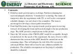 2 2 detector and electronics wisniewski slac byrum anl10