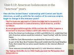unit 8 10 american isolationism in the interwar years3