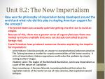 unit 8 2 the new imperialism1