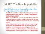unit 8 2 the new imperialism2