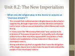 unit 8 2 the new imperialism3
