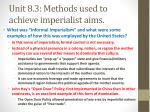 unit 8 3 methods used to achieve imperialist aims2