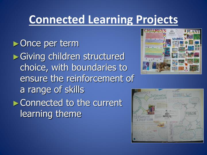 Connected Learning Projects