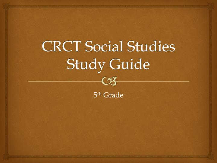 social studies study guide Start studying social studies study guide learn vocabulary, terms, and more with flashcards, games, and other study tools.