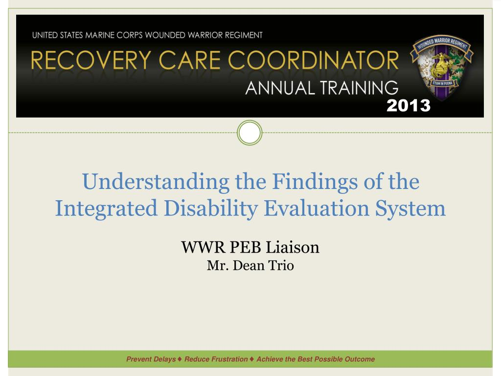 ppt understanding the findings of the integrated disability