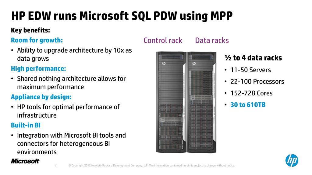 PPT - HP Enterprise Data Warehouse Appliance PowerPoint
