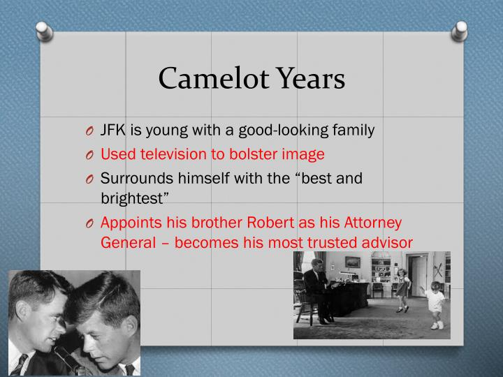 Camelot Years