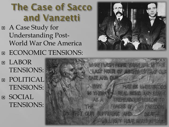 the issue of unfair criminal justice system in america in the trial of sacco and vanzetti Who were sacco and vanzetti italian americans who had anarchistic views why was the trial a miscarriage of justice - it became more about politics than the crime - little evidence but unfair trial because they were anarchists - the judge was biased, he called them 'anarchist bastards' - there.