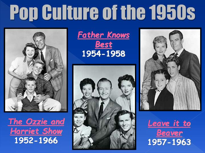 Pop Culture of the 1950s