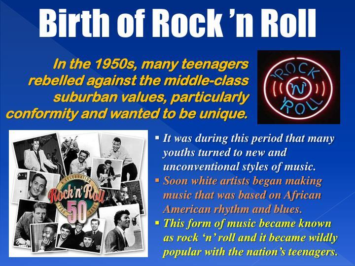 Birth of Rock 'n Roll