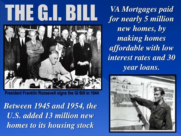 THE G.I. BILL