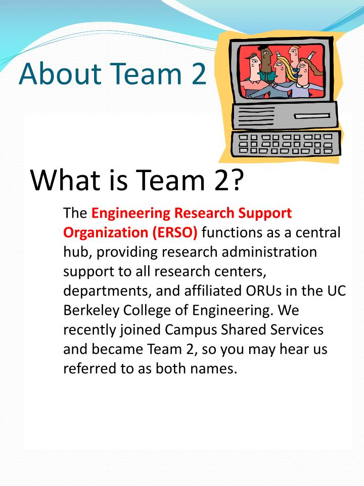 About team 2