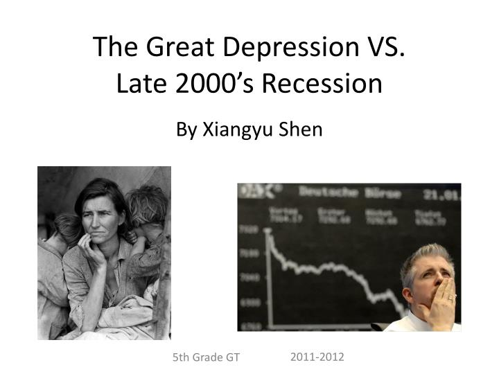 essays on the great depression 2000