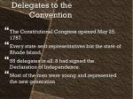 delegates to the convention
