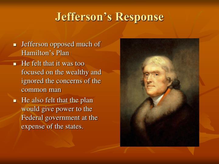 Jefferson's Response