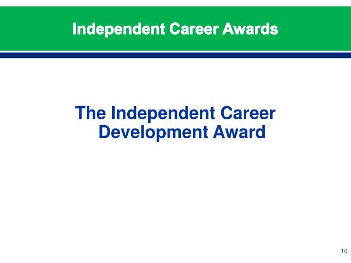 Independent Career Awards