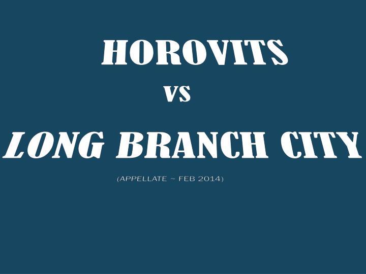 HOROVITS