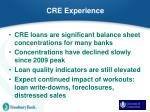 cre experience