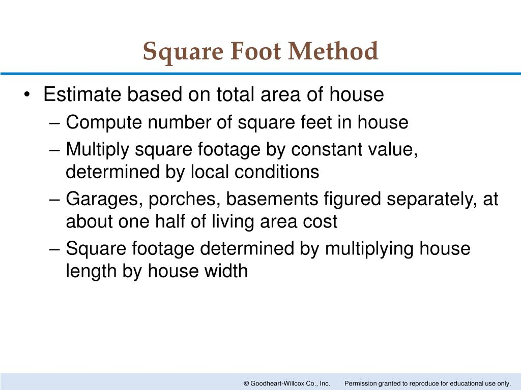 PPT - Estimating Building Costs PowerPoint Presentation - ID:1642042