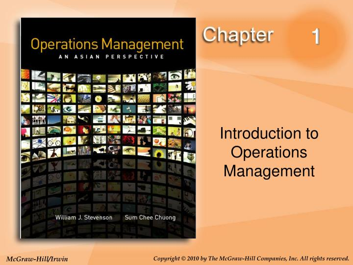 1 briefly describe the term operations management 1 briefly describe the term operations management 1why should one study operations managementoperations management is the set of activities that creates value in the form of goods and services by transforming inputs into outputs.