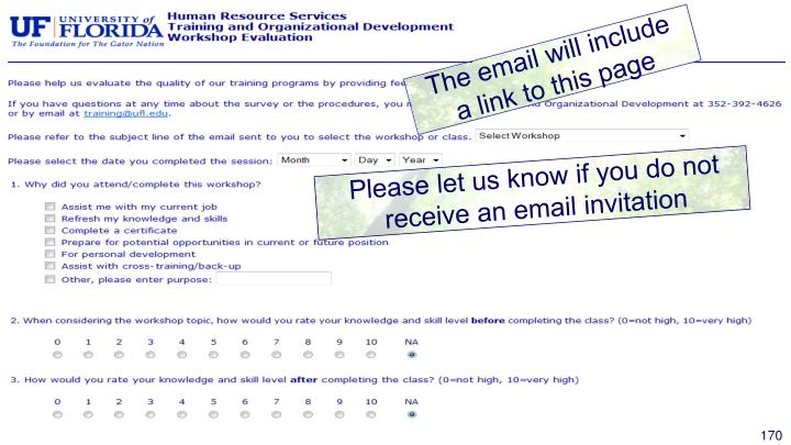 The email will include a link to this page