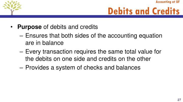 Accounting at UF