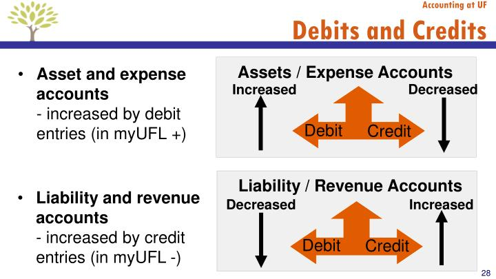 Assets / Expense Accounts