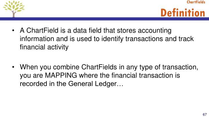 ChartFields