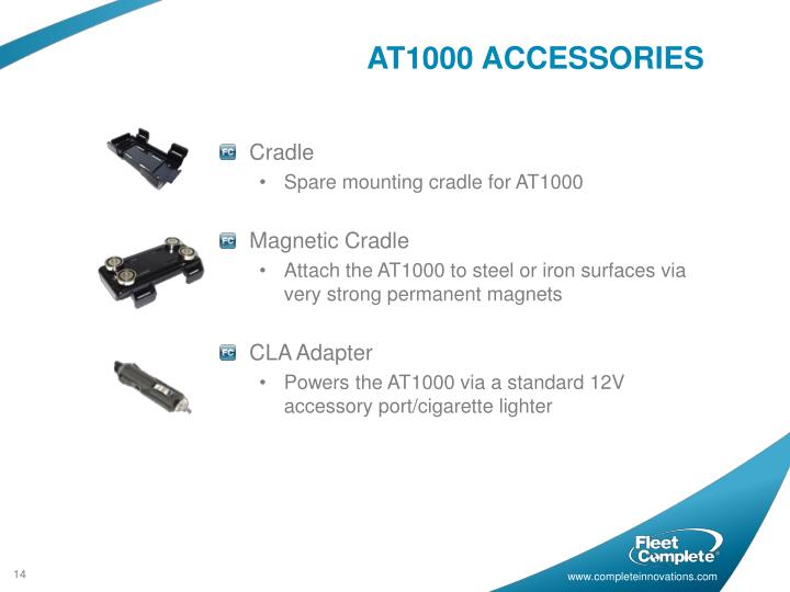 AT1000 ACCESSORIES