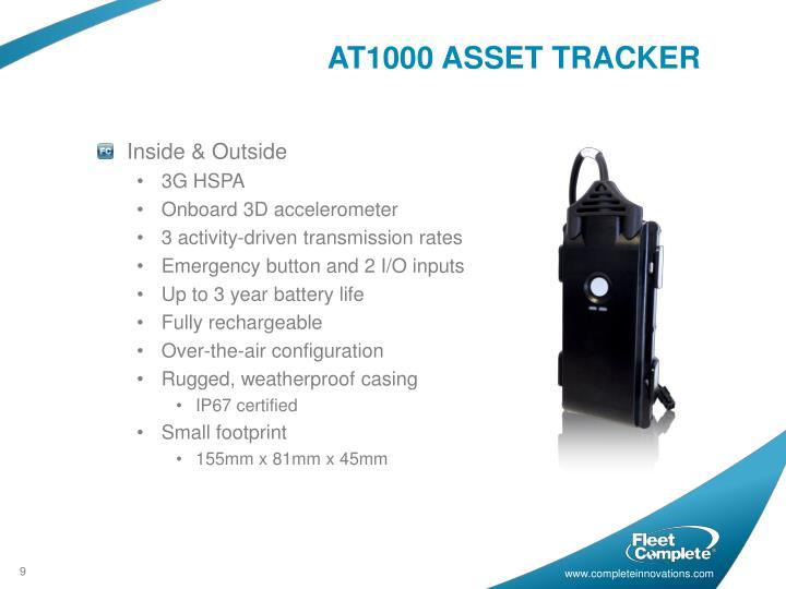 AT1000 ASSET TRACKER