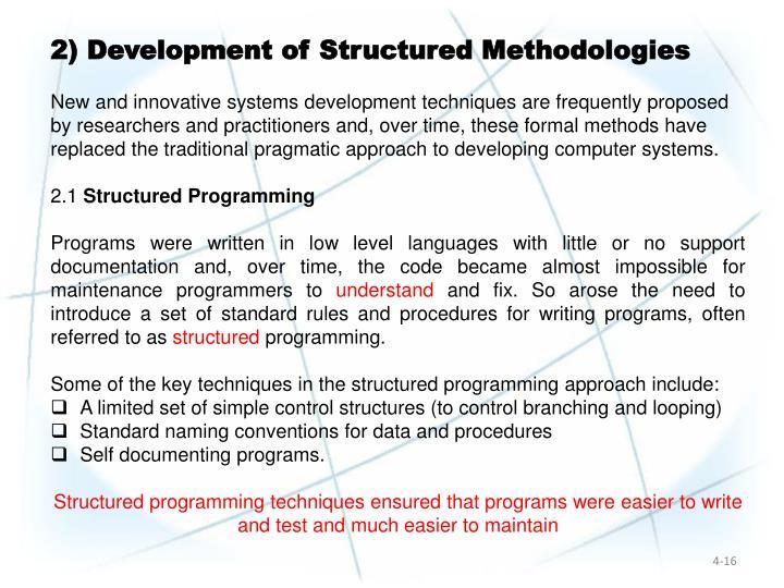2) Development