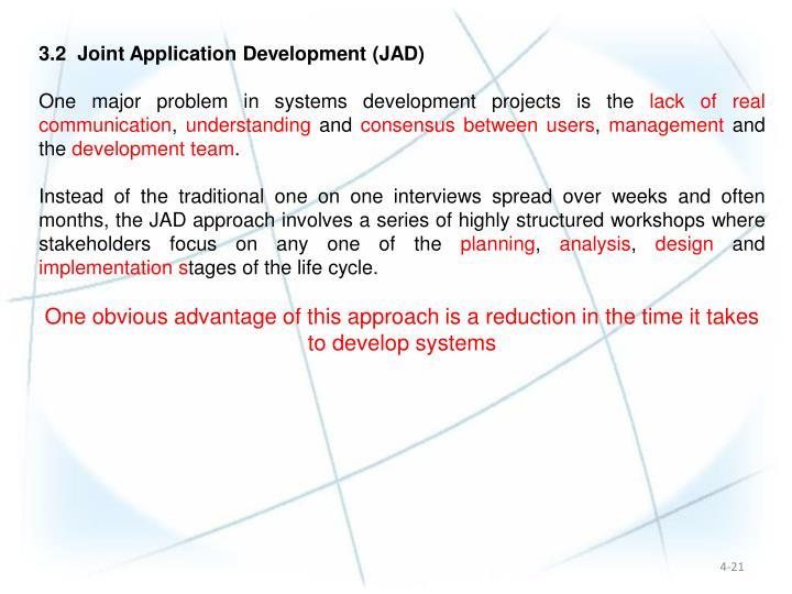 3.2  Joint Application Development (JAD