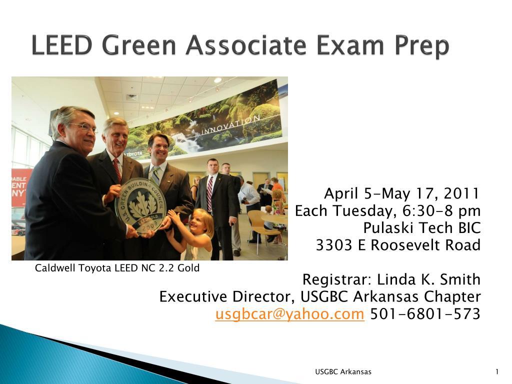 Ppt Leed Green Associate Exam Prep Powerpoint Presentation Id