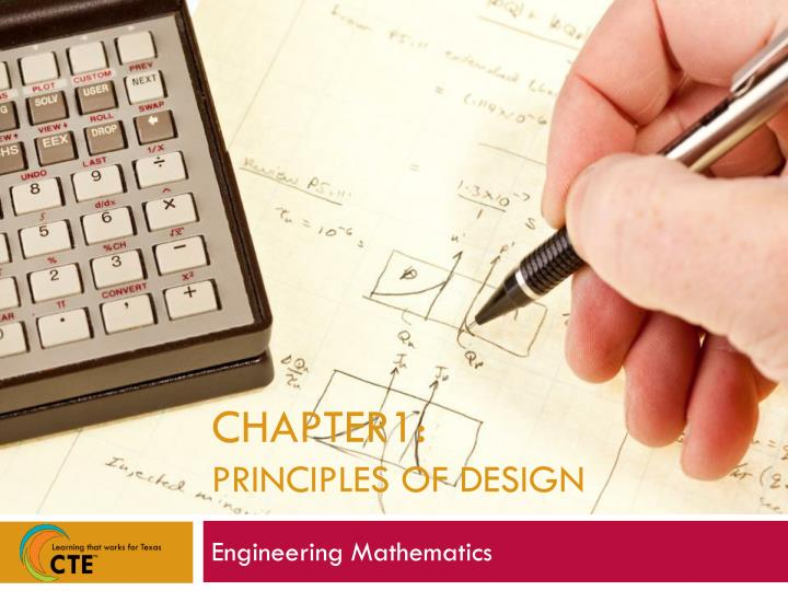 Chapter1 principles of design