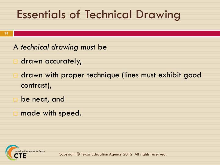 Essentials of Technical Drawing