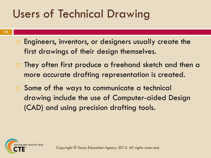 Users of Technical Drawing