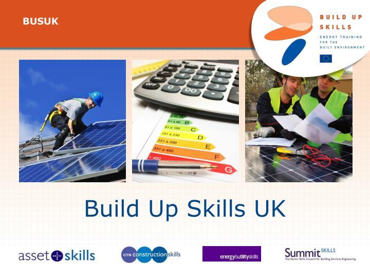 Build Up Skills UK