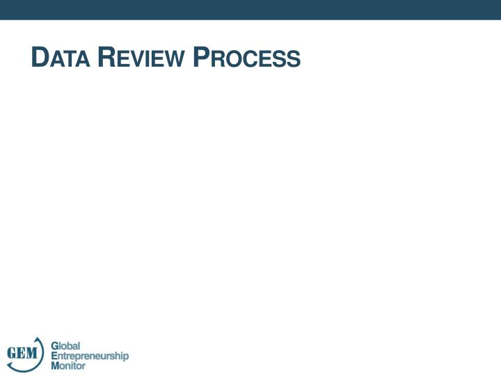 Data Review Process