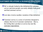 customer relations business practices1