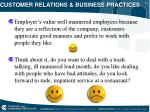 customer relations business practices14