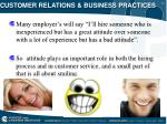 customer relations business practices16